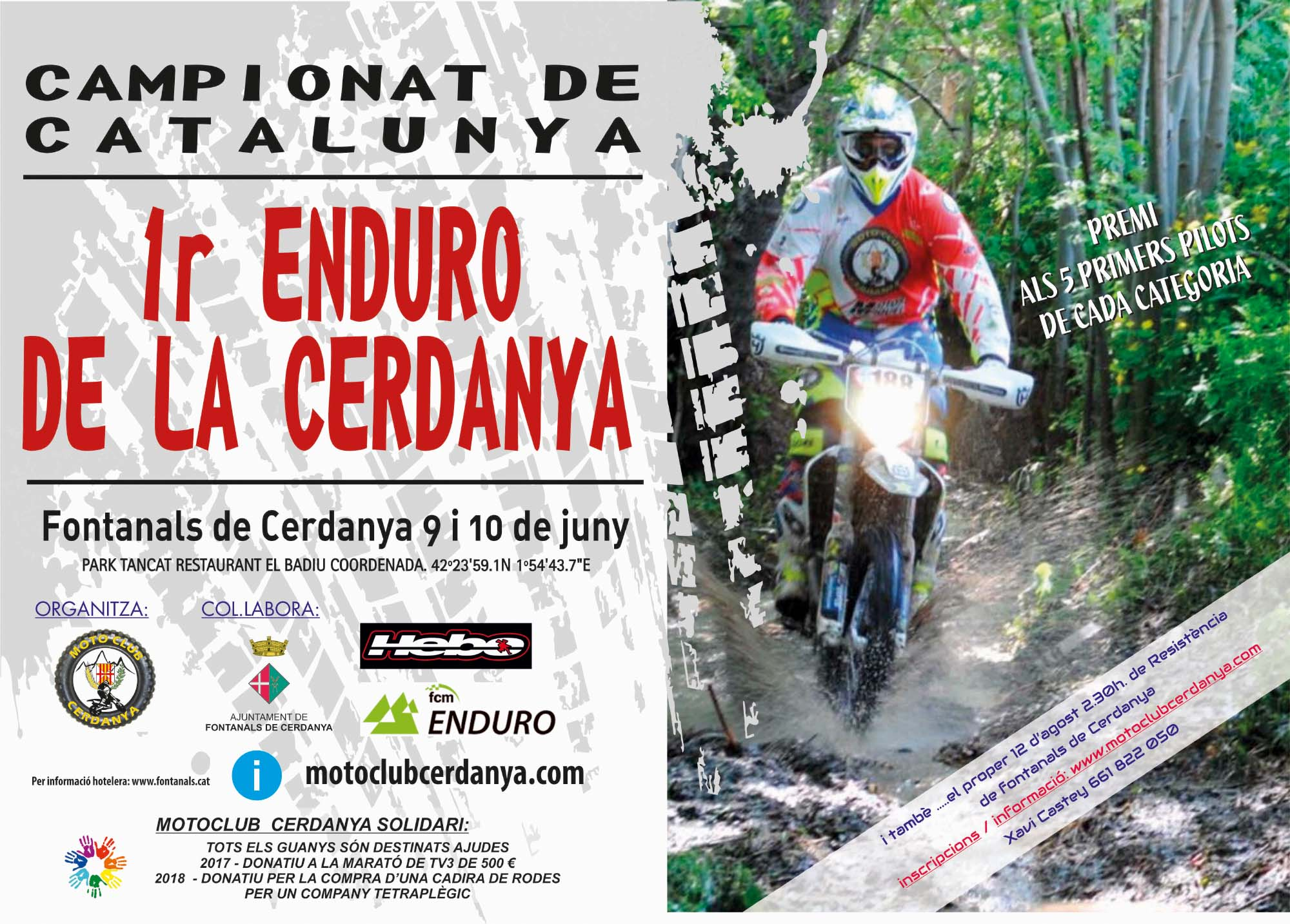 Enduro Campionat Catalunya Cerdanya